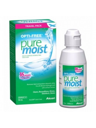 OPTI-FREE PURE MOIST BOTTLE 16 HOURS 90ML