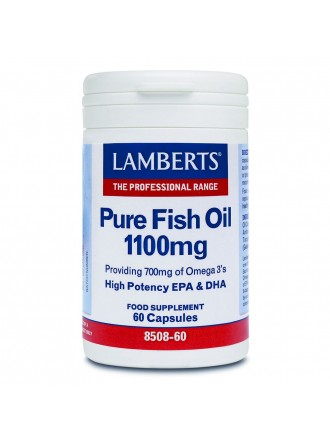 LAMBERTS PURE FISH OIL 1100MG 60CAP