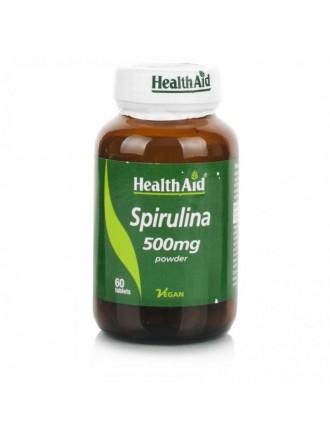 HEALTH AID SPIRULINA 500MG TABLETS 60'S