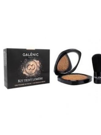 GALENIC KIT TEINT LUMIERE POUDRE DE SOLEIL 9.5GR ΜΑΤ ΟΨΗΣ & KABUKI BRUSH