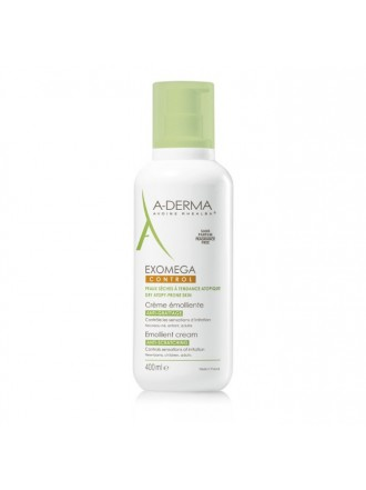A-DERMA EXOMEGA CONTROL EMOLLIENT CREAM ANTI-SCRATCHING 400ML