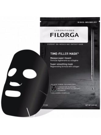 FILORGA TIME-FILLER MASK SUPER-SMOOTHING MASK BLACK FIBER TECHNOLOGY COLLAGEN COMPLEX 1TMX