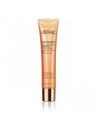 LIERAC SUNISSIME ENERGIZING PROTECTIVE FLUID GLOBAL ANTI-AGING SPF30 40ML