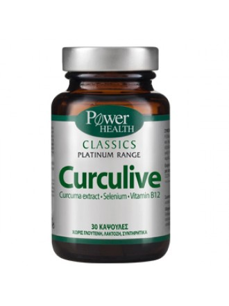 POWER HEALTH CLASSICS PLATINUM CURCULIVE 30 CAPS
