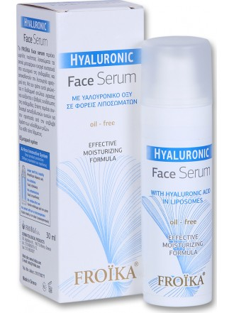 FROIKA HYALURONIC FACE SERUM OIL-FREE 30ML