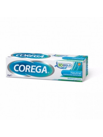COREGA 3D HOLD NEUTRAL 40GR
