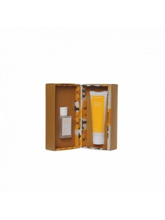 KORRES SET A YELLOW GIFT FOR HER WHITE TEA BERGAMOT FREESIA 50ML & ΔΩΡΟ ΓΑΛΑΚΤΩΜΑ ΣΩΜΑΤΟΣ 125ML
