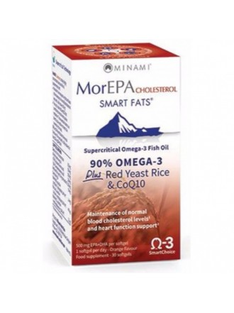 MINAMI MorEPA CHOLESTEROL SMART FATS 30SOFTGELS