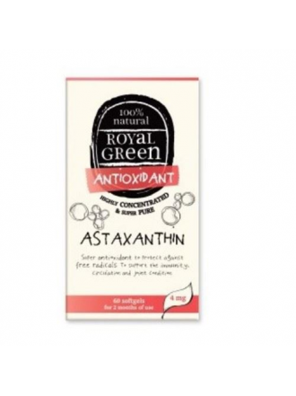 ROYAL GREEN ASTAXANTHIN 60CAPS