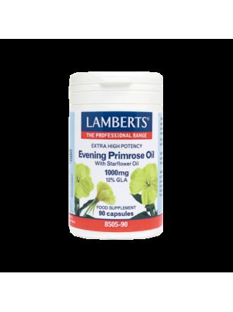 LAMBERTS EVENING PRIMOSE OIL & STARFLOWER OIL 90CAPS