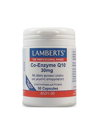 LAMBERTS CO-ENZYME Q10 30MG 30CAP