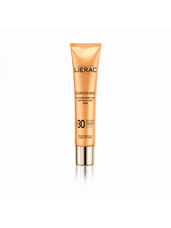 LIERAC SUNISSIME BB FLUID ANTI AGE GLOBAL GOLDEN  SPF30 40ML