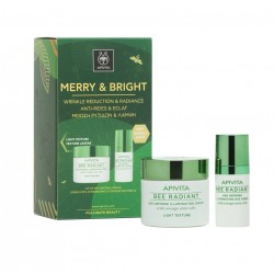 APIVITA MERRY & BRIGHT SET BEE RADIANT LIGHT TEXTURE