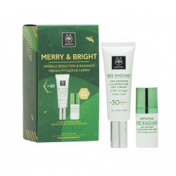 APIVITA MERRY & BRIGHT SET SEE RADIANT SPF30