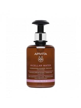 APIVITA CLEANSING MICELLAR WATER ROSE & HONEY 300ML