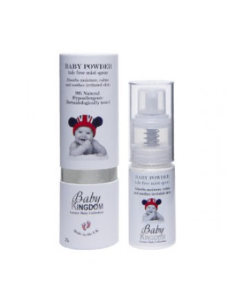 BABY KINGDOM BABY POWDER SOFT SILKY MIST SPRAY 25ML