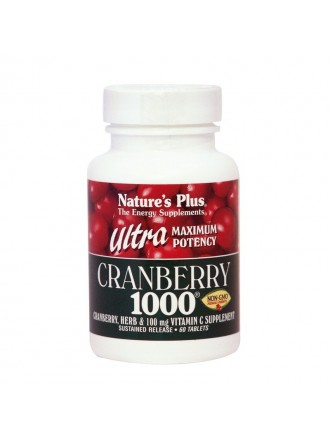 NATURE'S PLUS ULTRA CRANBERRY 1000MG 60TABLETS