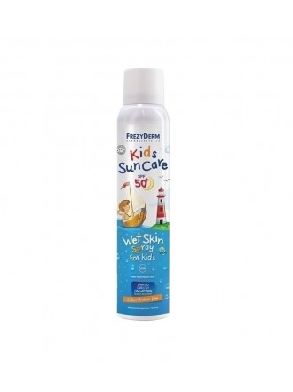FREZYDERM KIDS SUN CARE SPF50+ WET SKIN SPRAY FOR KIDS 200ML