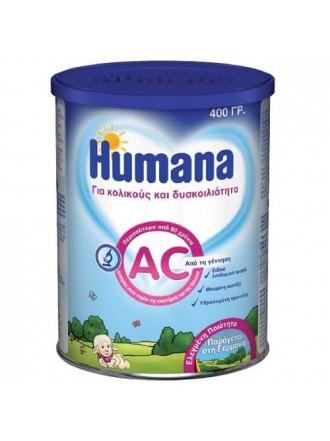 Humana AC Βρεφικό Γάλα 0m+ για τους Κολικούς & τη Δυσκοιλιότητα 350gr