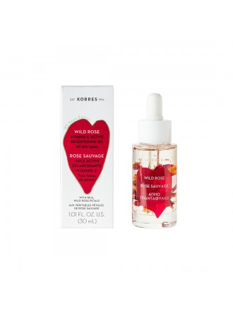 KORRES WILD ROSE VITAMIN C BRIGHTENING FACE OIL 30ML