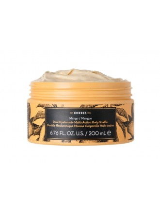 KORRES MANGO DOUBLE HYALURONIC MULTI ACTION BODY SOUFFLE 200ML