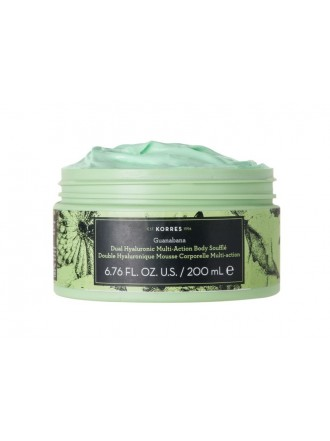 KORRES GUANABANA DOUBLE HYALURONIC MULTI ACTION BODY SOUFFLE 200ML