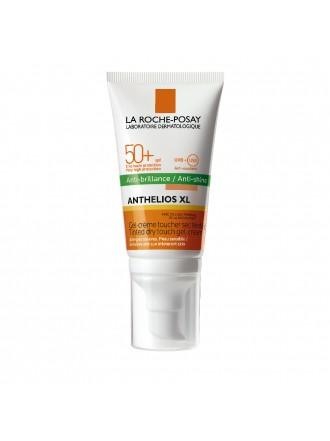 LA ROCHE POSAY ANTHELIOS XL DRY TOUCH GEL-CREAM ANTI-SHINE TINTED PUMP SPF50+ 50ML