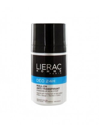 LIERAC HOMME DEO ROLL-ON 24H ACTION NON STOP 50ML