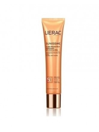 LIERAC SUNISSIME ENERGIZING PROTECTIVE FLUID GLOBAL ANTI-AGING SPF50+ 40ML