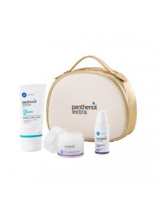 MEDISEI PANTHENOL EXTRA GIFT FOR HER PREMIUM ANTIAGEING SET FACE CLEANSING GEL150ML + FACE AND EYE CREAM 50ML + FACE AND EYE SERUM 30ML