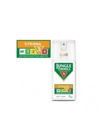 OMEGA PHARMA JUNGLE FORMULA STRONG SOFT CARE SPRAY ΜΕ IRF3 75ML