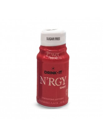 POWER HEALTH DRINK IT N'RGY SHOT MIXED BERRIES 60ML