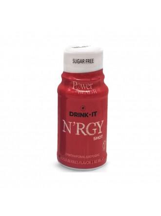 POWER HEALTH DRINK IT N'RGY SHOT MIXED BERRIES 60ML