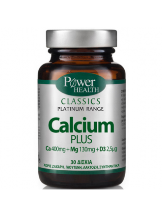 POWER HEALTH PLATINUM CALCIUM PLUS 30TABS