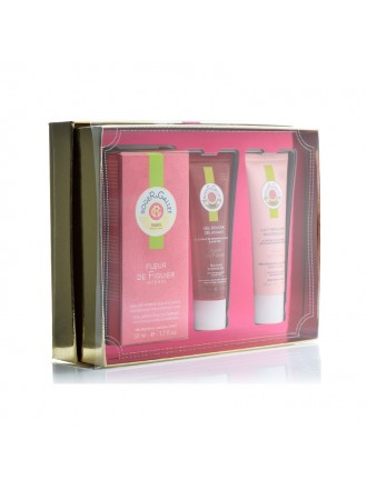 ROGER & GALLET FLEUR DE FIGIER EU DE PARFUM 50ML  &  SHOWER GEL 50ML & BODY LOTION 50ML
