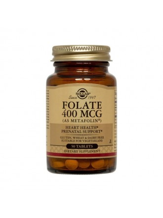 Solgar Folate as Metafolin 400mcg 50 ταμπλέτες