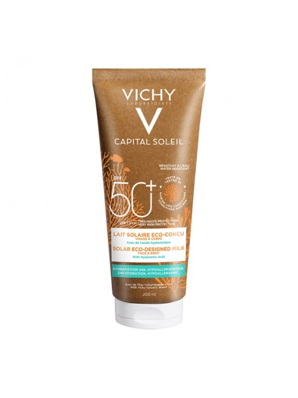 Vichy Capital Soleil Eco Milk SPF50 200ml