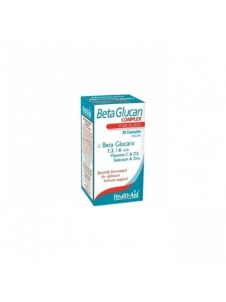 HEALTH AID BETA GLUCAN COMPLEX 30CAPS