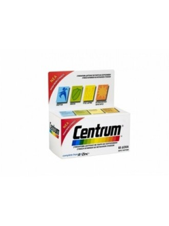 CENTRUM A-ZINC 60TAB NEW