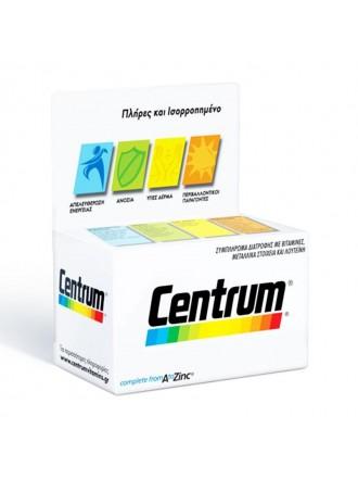 CENTRUM A-ZINC (EC3) TABS 30'S