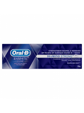 ORAL B 3D WHITE LUXE DIAMOND STRONG 75ML ΟΔΟΝΤΟΚΡΕΜΑ