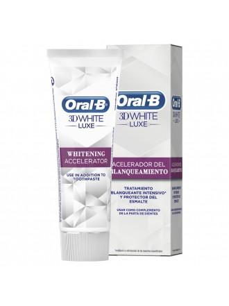 ORAL B 3D WHITE LUXE ΕΠΙΤΑΧΥΝΤΗΣ ΛΕΥΚΑΝΣΗΣ 75ML