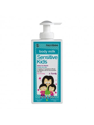FREZYDERM SENSITIVE KIDS FACE & BODY MILK (ΕΝΥΔΑΤΙΚΟ ΓΑΛΑΚΤΩΜΑ) 200ML