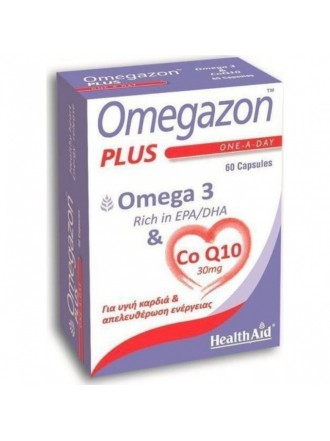 HEALTH AID OMEGAZON PLUS OMEGA 3 60CAPS