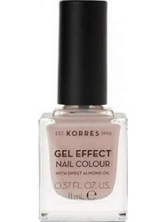 KORRES GEL EFFECT NAIL COLOUR SANDY NUDE No 31 11ML