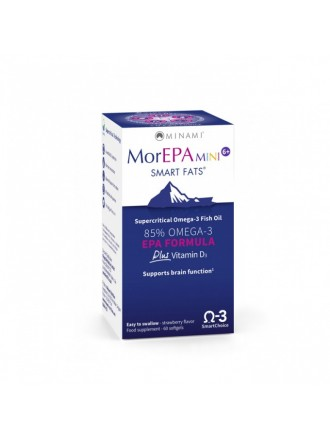 MINAMI MOREPA MINI JUNIOR 6+ 60SOFTGELS