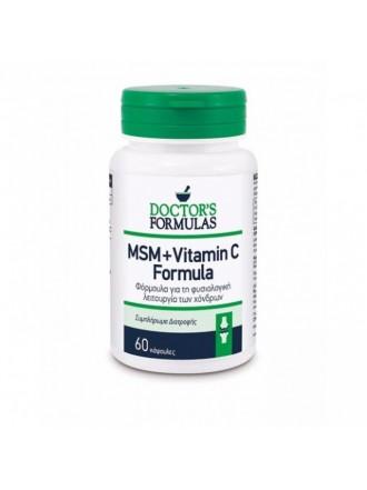 DOCTOR'S FORMULA MSM+VITAMIN C FORMULA 60TABS