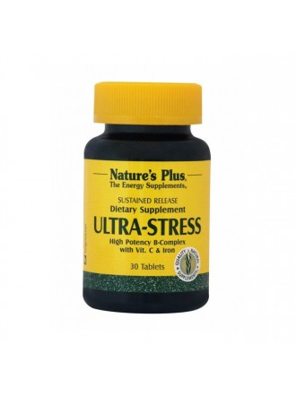 NATURE'S PLUS ULTRA STRESS WITH IRON S/R 30TABLETS
