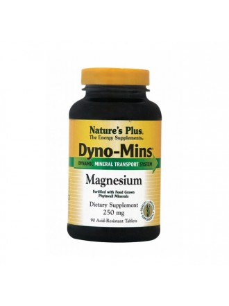 NATURE'S PLUS DYNO-MINS MAGNESIUM 250 MG 90TABLETS