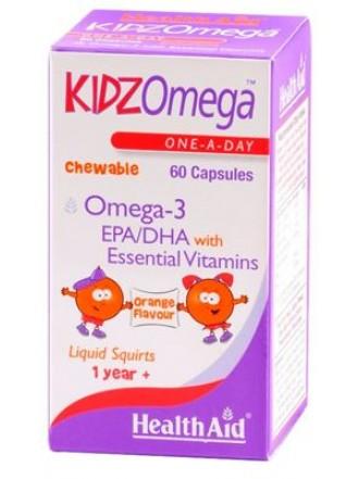 HEALTH AID KIDZOMEGA 60CHEW.CAPS